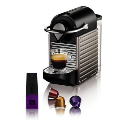 Krups Pixie XN3005 Pod coffee machine 0.7L Titan