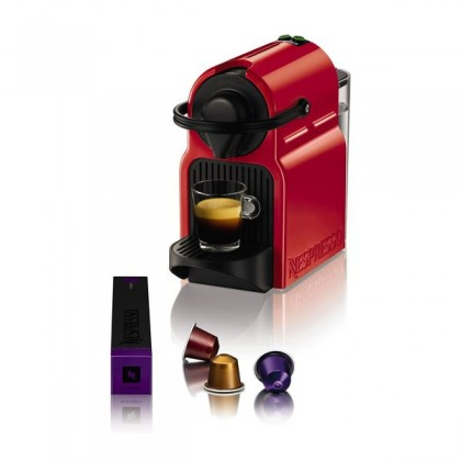 Krups Inissia XN1005 Ruby Red Pod coffee machine 0.7L Roşu