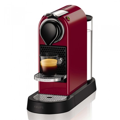 Krups Nespresso CitiZ Pod coffee machine 1L Negru, Roşu