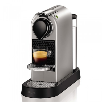 Krups XN740B Pod coffee machine 1L Argint cafetiere
