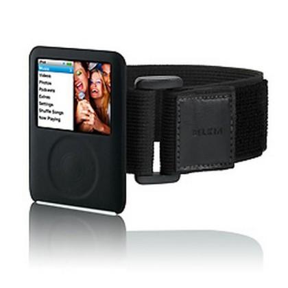 Belkin Silicone Sleeve w/ Armband for iPod nano 3G