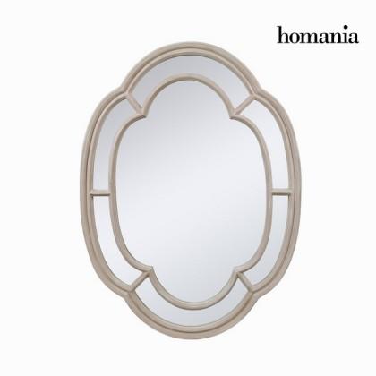 Oglindă ovală culoarea bej by Homania
