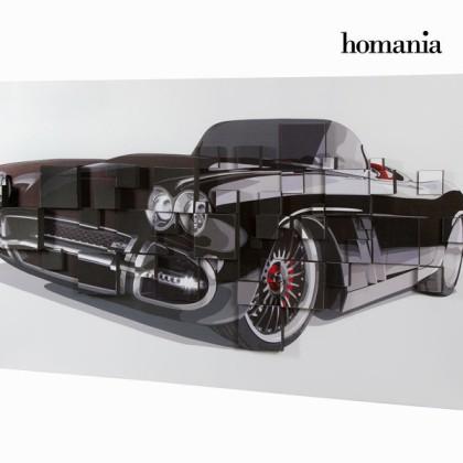Tablou 3d mașină neagră by Homania