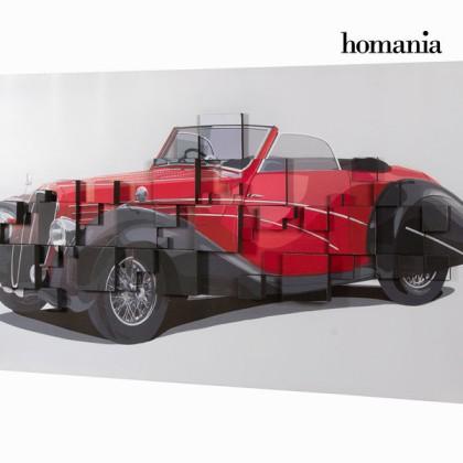 Tablou 3d mașină roșie by Homania