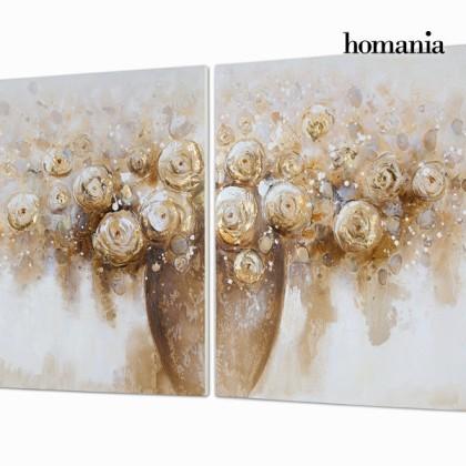 Tablou set de două în ulei by Homania