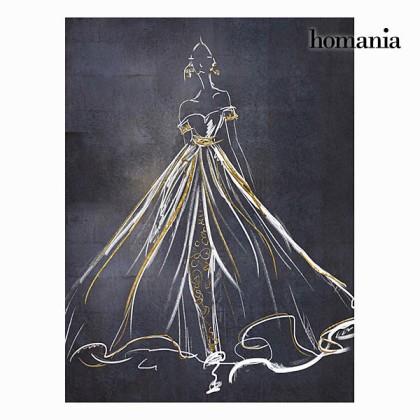 Tablou rochie neagră by Homania