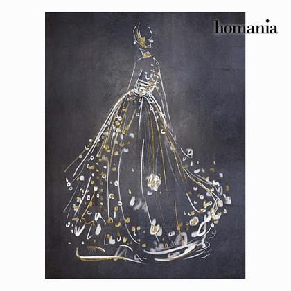 Oglindă cu ramă ridată argintie by Homania