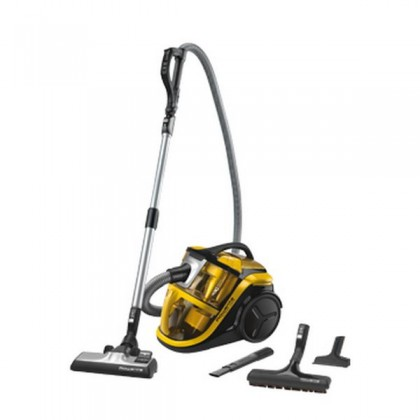 Rowenta Silence Force Multi-cyclonic RO8324 Cylinder vacuum cleaner 2L 750W A Negru, Galben