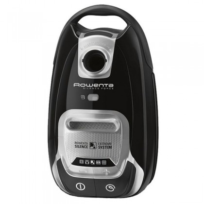 Rowenta RO6455EA Cylinder vacuum cleaner 4.5L 750W A Negru, Argint aspiratoare