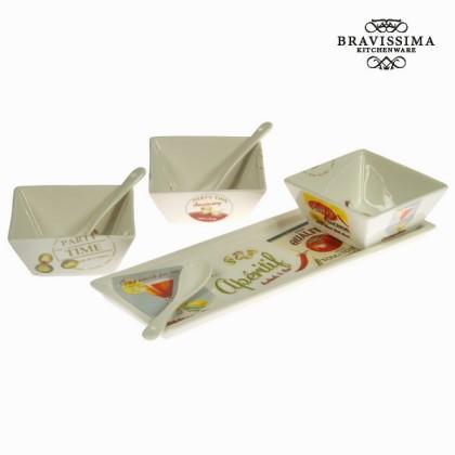 Set de 3 boluri cu tavă - Kitchen's Deco Colectare by Bravissima Kitchen