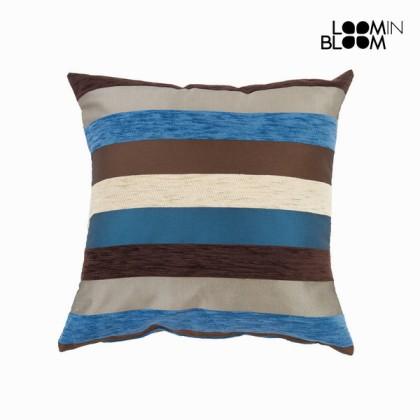 Pernă motegi albastră - Colored Lines Colectare by Loom In Bloom