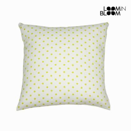 Pernă în buline natural verde - Little Gala Colectare by Loom In Bloom