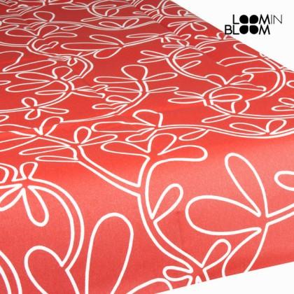 Față de masă din rășină florală roșie by Loom In Bloom