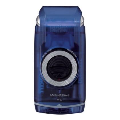 Braun MobileShave M-60b Folie Albastru, Transparente