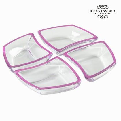 Servicio mesa cristal - Crystal Colours Kitchen Colectare by Bravissima Kitchen