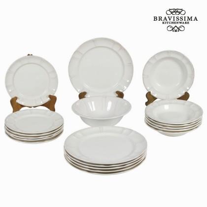 Set de cină 19 piese - Kitchen's Deco Colectare by Bravissima Kitchen