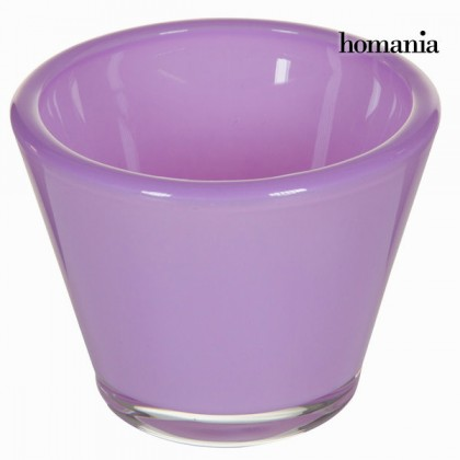 Suport de lumânări din sticlă lila - Crystal Colours Kitchen Colectare by Homania