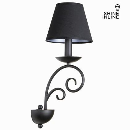 Lampă aplic de perete neagră by Shine Inline