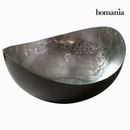 Decor central oval argintiu - New York Colectare by Homania