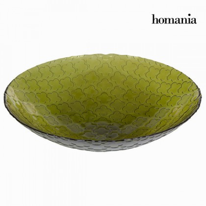 Decor central trifoi verde - Crystal Colours Kitchen Colectare by Homania