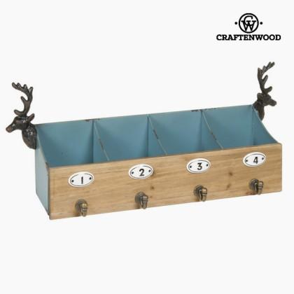5 umerașe cuier cerb by Craftenwood