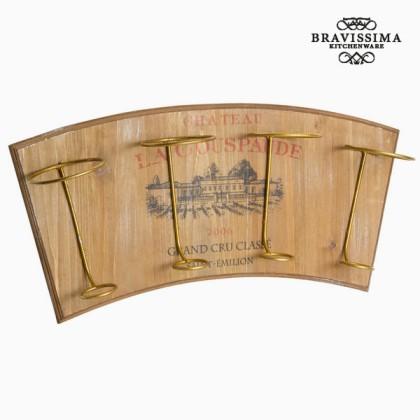 Cuier de Perete pentru Sticle de Vin by Bravissima Kitchen