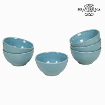Castron set de 6 albastru - Kitchen's Deco Colectare by Bravissima Kitchen
