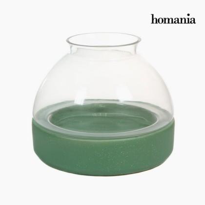 Suport de lumânări din ceramică și sticlă by Homania