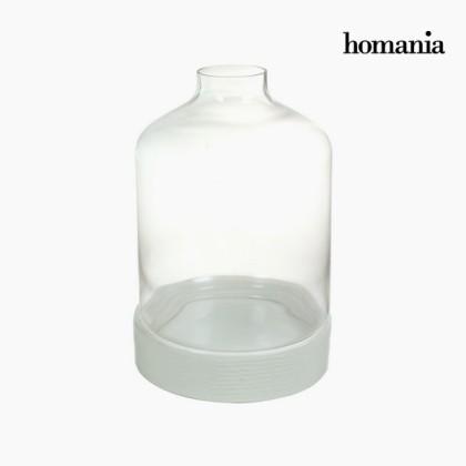 Centrul de masă din ceramică alb by Homania