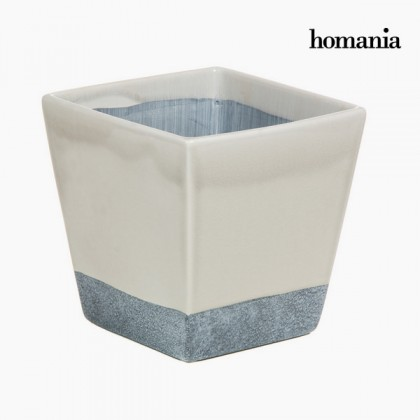 Vas ceramic gri și bej by Homania