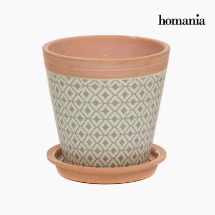 Plantator ceramic romburi by Homania