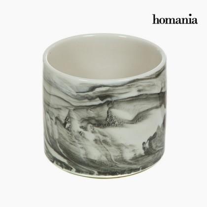 Centru de masă alb din ceramică by Homania