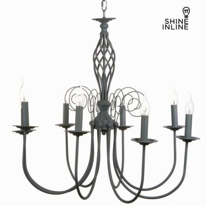 Lampă cu 8 brațe gri by Shine Inline