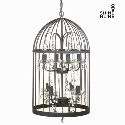 Lampă cușcă gri by Shine Inline