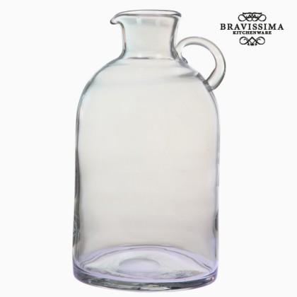 Borcan transparent din sticlă cu mâner by Bravissima Kitchen