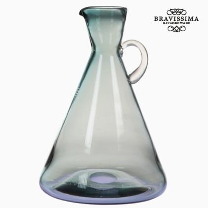 Borcan cu mâner din sticlă albastru by Bravissima Kitchen