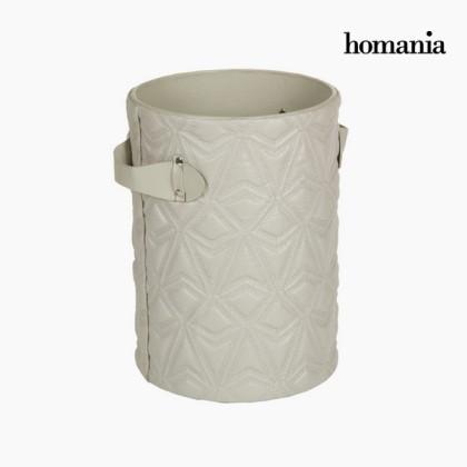 Coș gravat gri by Homania