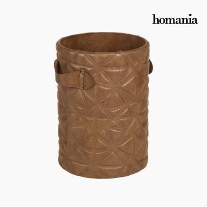 Coș gravat maro by Homania