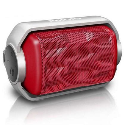 Philips BT2200R/00 Mono 2.8W Deptunghi Roşu, Argint difuzoare portabile