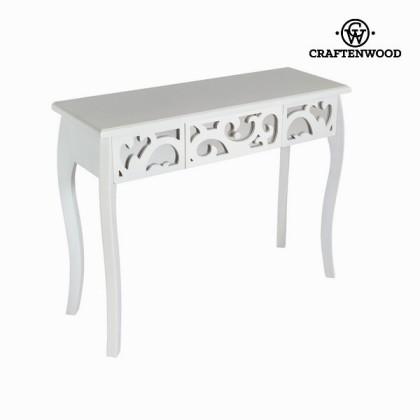Consolă de hol cu 1 sertar albă - Radiance Colectare by Craftenwood