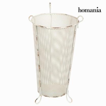 Suport pentru umbrele metalic alb by Homania