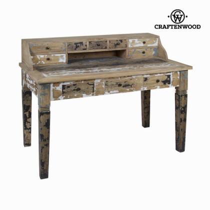 Birou de scris din lemn decapat - Poetic Colectare by Craftenwood