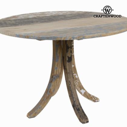Masă rotundă din lemn decapat - Poetic Colectare by Craftenwood