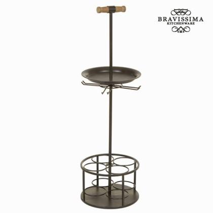 Suport de sticle cu mâner culoarea neagră by Bravissima Kitchen