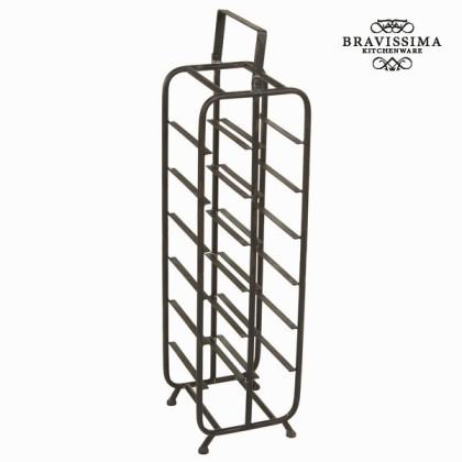 Suport de sticle mare negru by Bravissima Kitchen