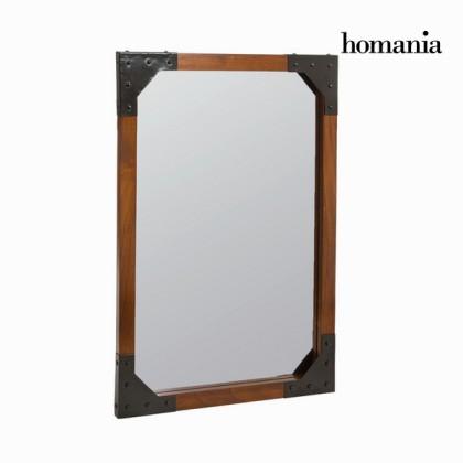 Oglindă de perete din lemn și metal - Franklin Colectare by Homania