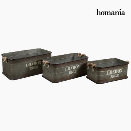 Set trei coșuri londra by Homania