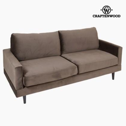 Canapea mare de două locuri gri cos by Craftenwood
