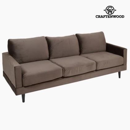 Canapea de trei locuri gri cos by Craftenwood