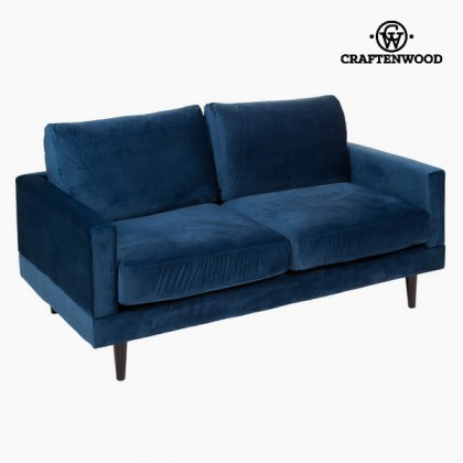 Canapea de trei locuri albastră cos by Craftenwood